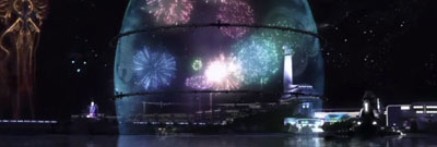 Fireworks from Final Fantasy 13.