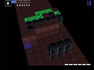 Lots of forbidden cubes pile up on the 8th stage..