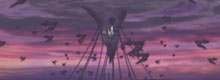 The Empire's cradle against a dusk sky