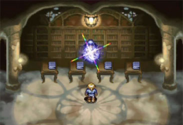 The save room from Alundra.