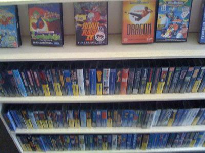 Lots of Mega Drive games.