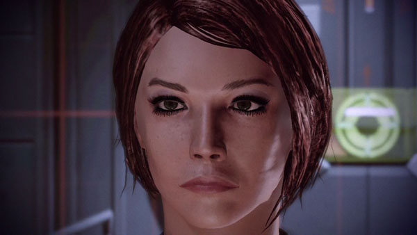 My version of Shepard, the female version based on my original Mass Effect character.