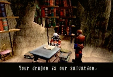 Your dragon is our salvation.